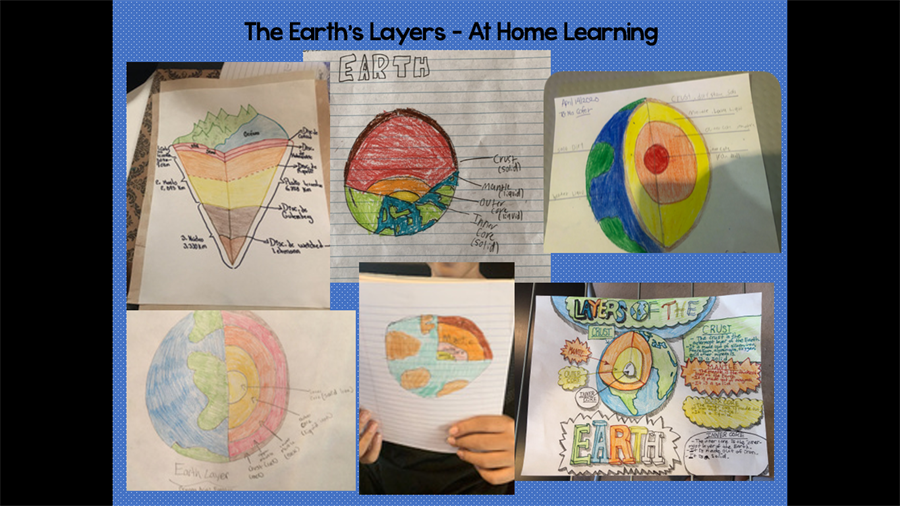 poster of the earths layers